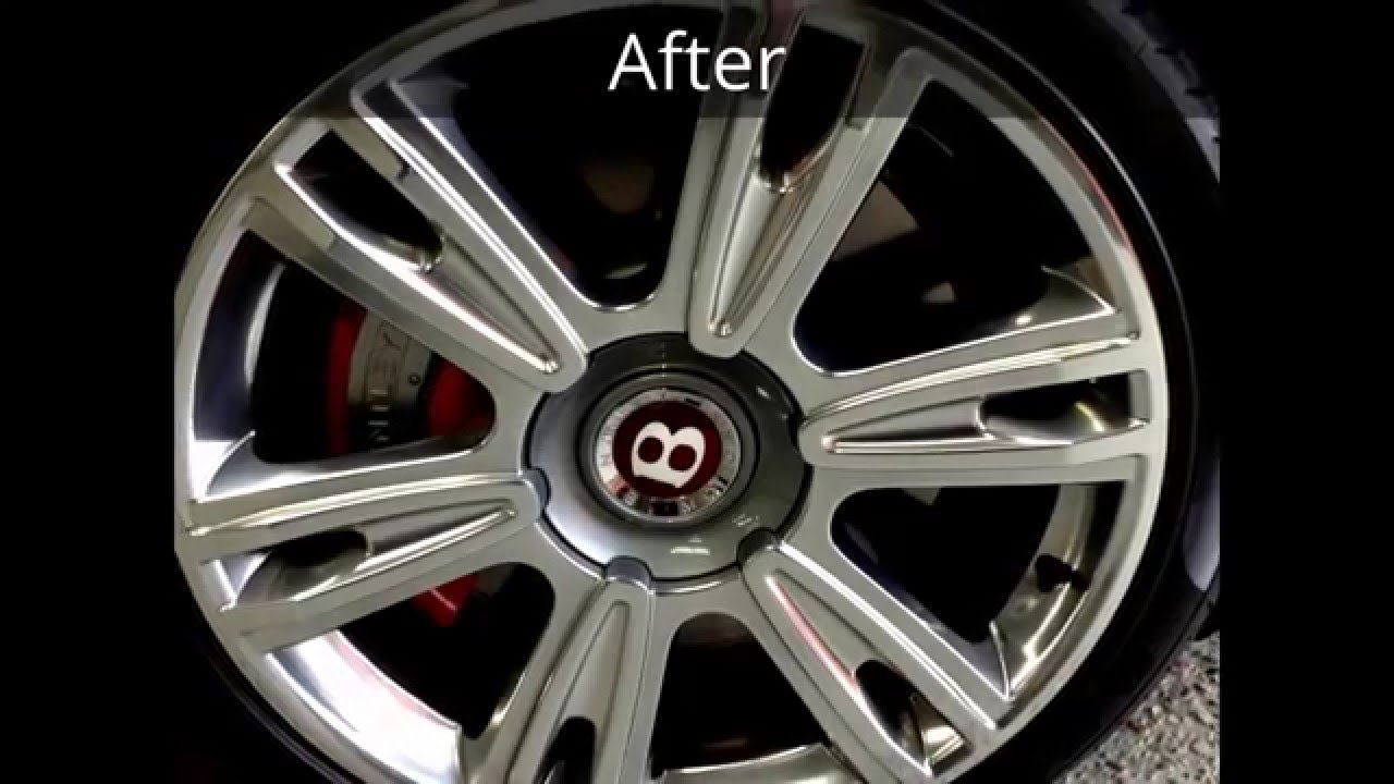 Bentley Specialist Alloy Wheel Repair Examples Youtube