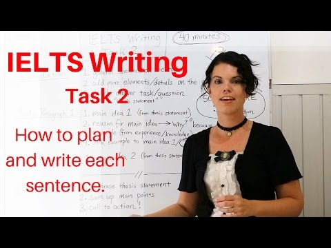 IELTS Writing Task 2 - Plan and Outline