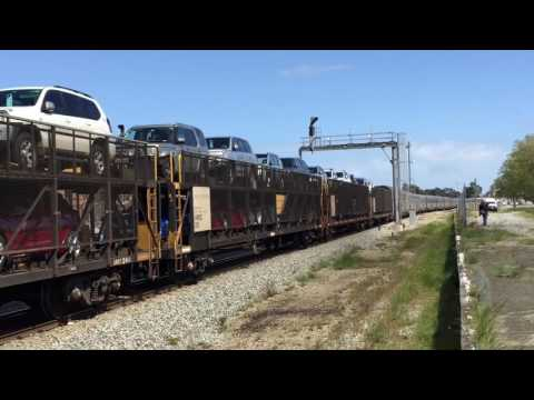 Pacific National NR48 hauling the Indian Pacific through Midland Station WA