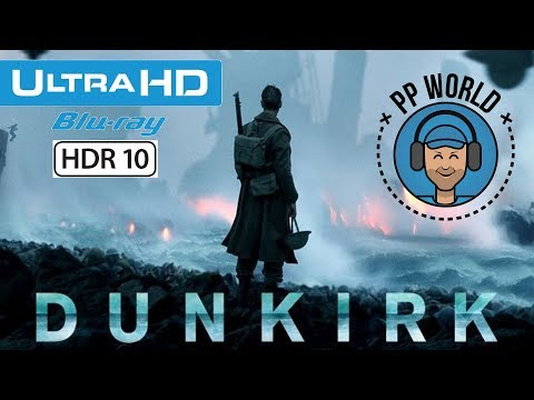 Test du Blu-ray Ultra HD/4K de Dunkerque ! (Christopher Nolan)