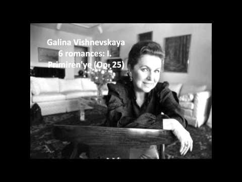 Galina Vishnevskaya: Songs of Pyotr Ilyich Tchaikovsky