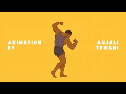 Macho Man Lyric Animation
