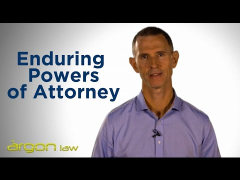 Enduring Powers of Attorney| Legal Advice from a Sunshine Coast Lawyer |  Argon Law