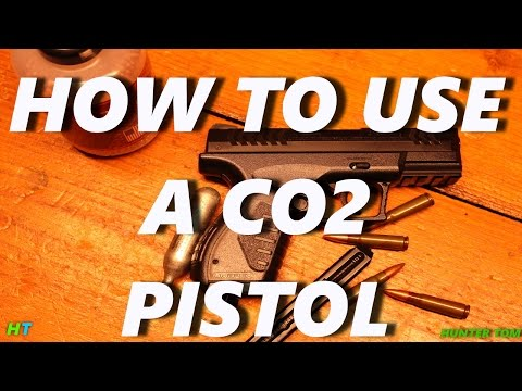 How To Use A CO2 Pistol. Airgun shooting guide