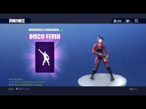 NEW DISCO FEVER EMOTE NEW DANCE MOVES Fortnite Battle Royale NEW Emotes 800 V Bucks YouTube