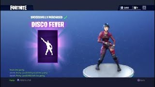 'NEW' DISCO FEVER EMOTE! NOUVEAUX MOUVEMENTS DE DANSE! Fortnite Battle Royale NOUVEAU Emotes 800 V-Bucks