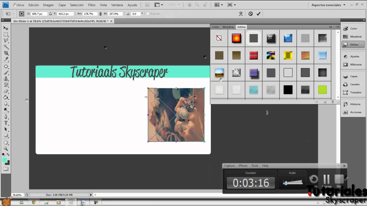 ○ Photoshop || Como hacer una credencial - YouTube