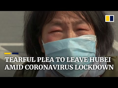 'Please take my daughter', pleads mother of cancer patient at coronavirus blockade in China