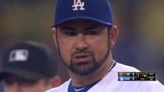 August 23, 2016-San Francisco Giants vs. Los Angeles Dodgers