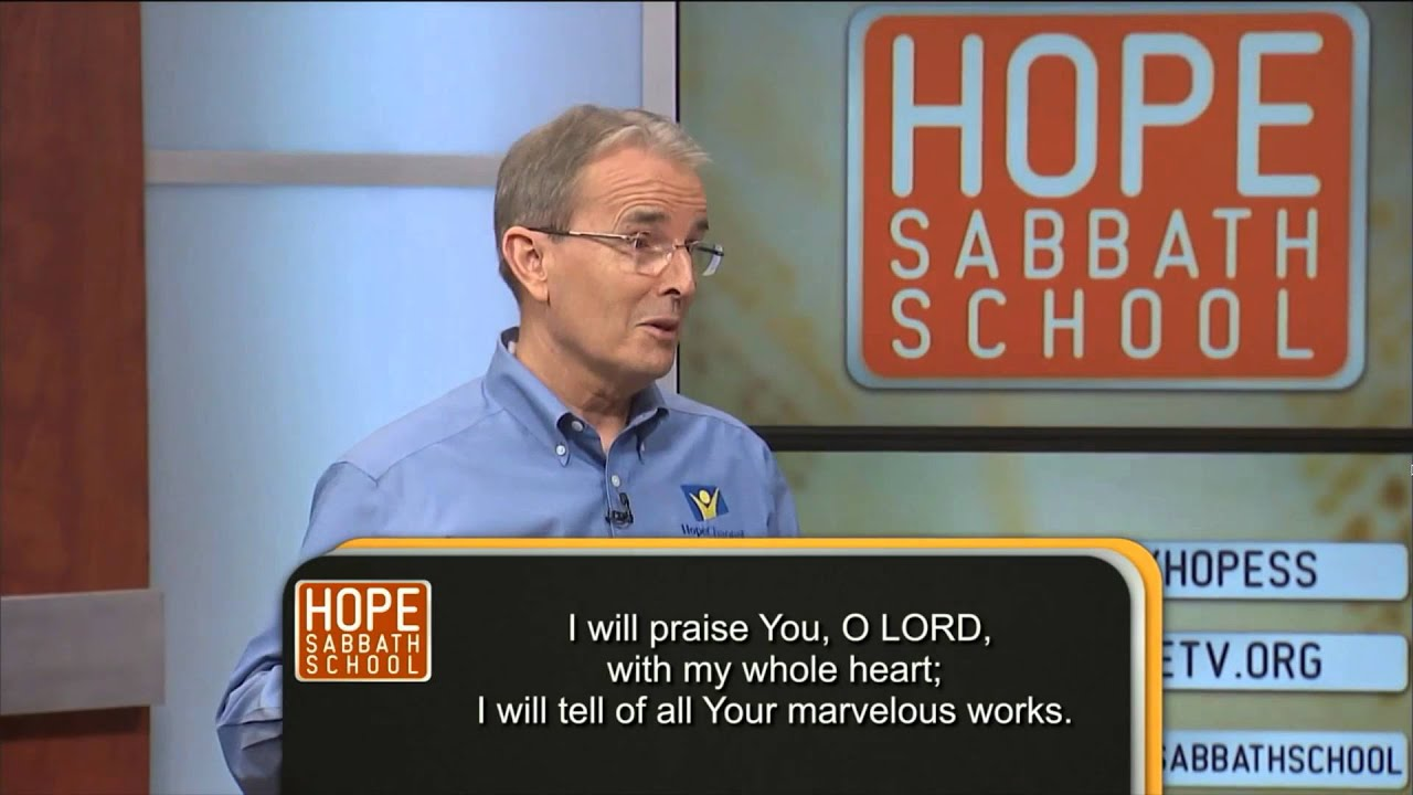 Hope Sabbath School: Lesson 3 - Global Rebellion and the Patriarchs (1st Qtr 2016)