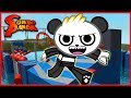 Roblox Wipeout Let's Play with Combo Panda