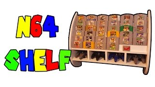 How to Build an N64 Shelf