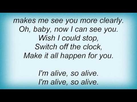 Love And Rockets - So Alive Lyrics