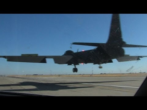 U-2 Takeoff Chase Landing and everything in between U2 airplane 720 HD