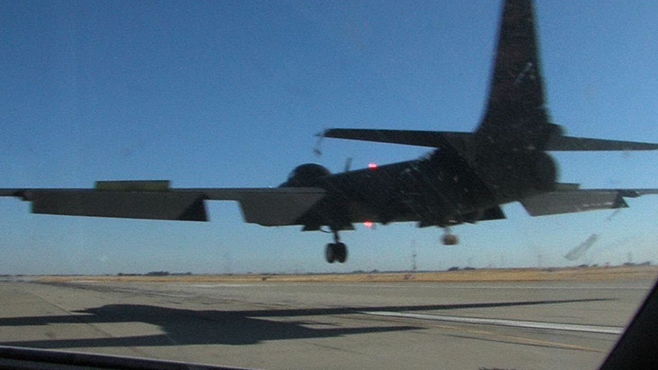 U-2 Takeoff Chase Landing and everything in between U2 airplane 720 HD