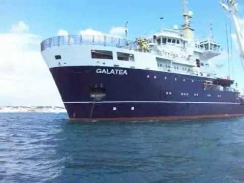 Trinity House ship GALATEA in Guernsey 23/8/08