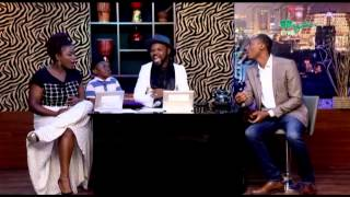 THE NIGHT SHOW Ft KUNLE IDOWU Frank Donga - Comedian  Pt1  Wazobia TV