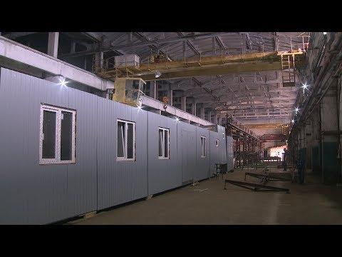 Волгоградская колония освоила производство домов-вагонов