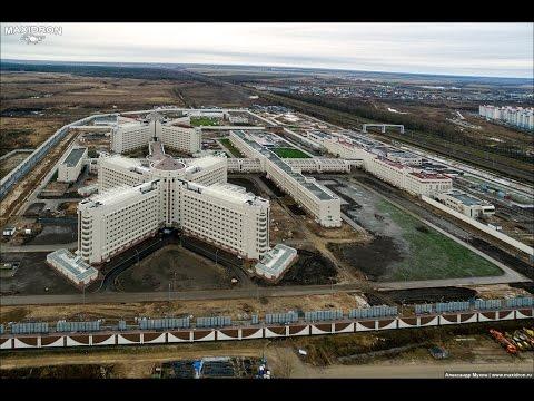 Следственный изолятор «Кресты-2»с квадрокоптера | 03.12.15 | by Maxidron.ru