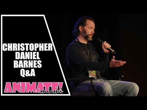 Christopher Daniel Barnes, Prince Eric and Spider-Man Q&A at Animate Miami 2015
