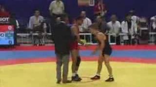 Sammie Henson 2006 world wrestling championships round 4