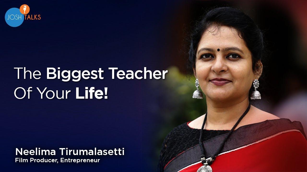 How Our Life Experiences Shape Our Career? | Neelima Tirumalasetti | Josh Talks