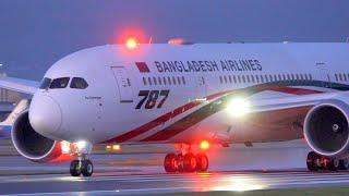 Beautiful Takeoff Biman Bangladesh Airlines S2-AJU Boeing 787-8 BG208 Manchester To Sylhet 10/2/2020