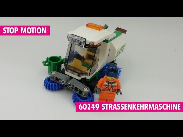 Lego 60249 Straßenkehrmaschine | Stop Motion