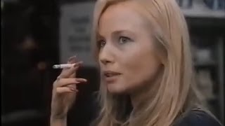 Rebecca De Mornay episodes of her long nails in combination with cigarette smoking. Part 2