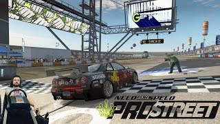 Борьба - 350 сильная S2000 vs 850 сильные Evo IX и Skyline Need for Speed: ProStreet