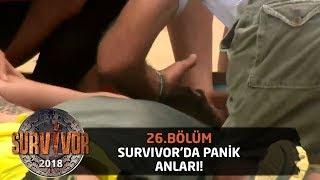Survivor'da panik anları! Yiğit'e doktor müdahalesi... | 26.Bölüm | Survivor 2018