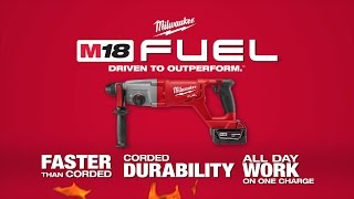 "Milwaukee® M18 FUEL™ 1"" SDS Plus D-Handle Rotary Hammer"
