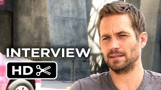 Brick Mansions Interview - Paul Walker (2014) - Parkour Action Movie HD