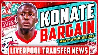 KONATE'S BARGAIN RELEASE CLAUSE! LFC Transfer News