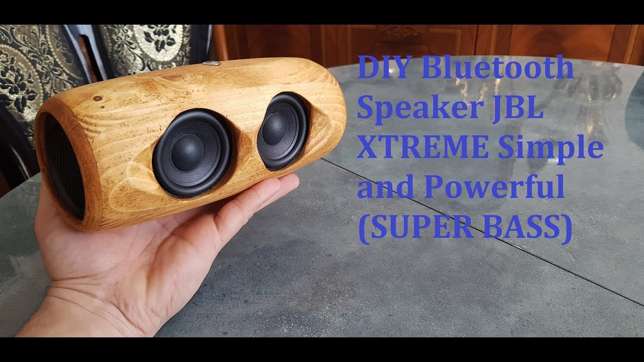 Download : DIY Bluetooth Speaker JBL XTREME Simple And Powerful