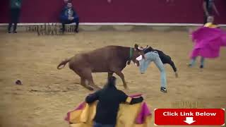 Dangerous Bull Fight Accidents Compilation 2018 Lucky and Funny People Fail