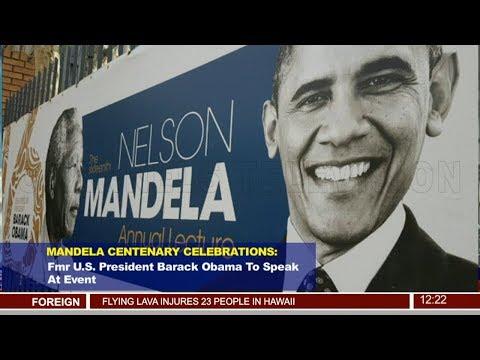 Fmr U SPresident To Speak At Mandela Centenary Celebrations