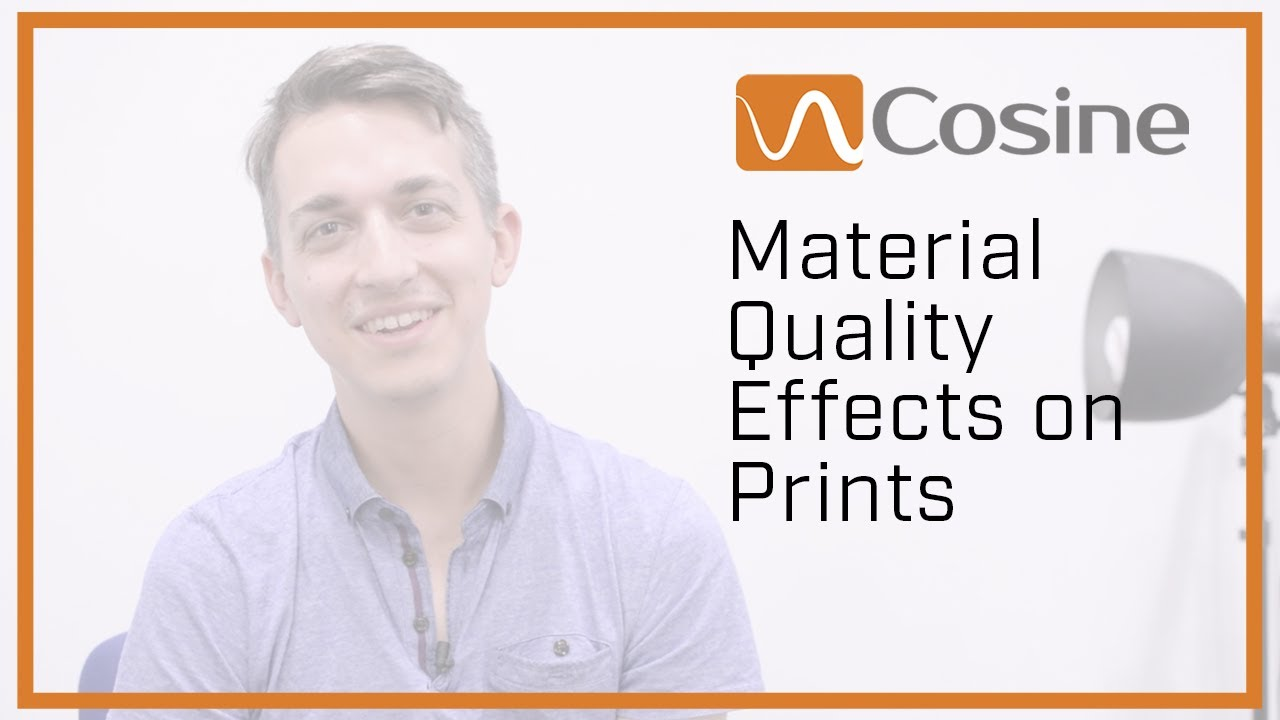 Material Quality Effects on Prints
