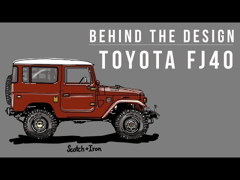 BEHIND THE DESIGN / A Brief History Of The Toyota FJ40