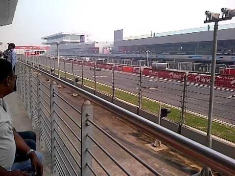 F1 1st practice session of 2010 Delhi