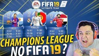 NOVIDADE!!! FIFA 19  CHAMPIONS LEAGUE?! 🏆😱