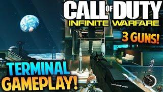 infinite warfare terminal remake multiplayer gameplay cod iw fhr 40 smg gameplay