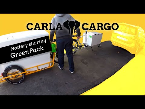 Share Batteries to operate your CARLA flexibel and efficient