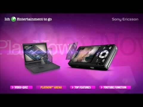 Sony Ericsson W995 PlayNow Arena - Youtube Special