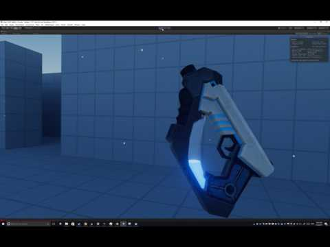 We had a very interesting idea about making weapons in VR