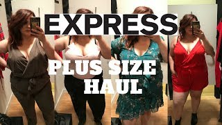 Express | Plus Size Fashion | Try On Haul | Inside The Dressing Room