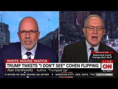 ALAN DERSHOWITZ FULL EXPLOSIVE INTERVIEW WITH MICHAEL SMERCONISH (4/21/2018)