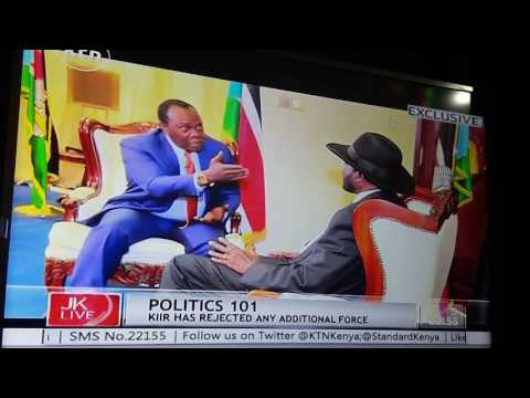JKL live: Interview with President Kiir of South Sudan (part 1)