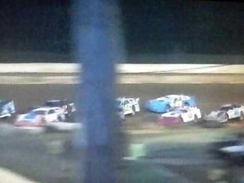 Hesston Speedway 7/1/17 SLM Heat 2