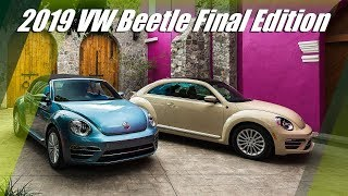 2019 VW Beetle Final Edition - Design And Drive